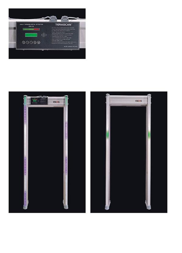 Cơ chế hoạt động của cổng dò kim loại Terascan ESW-618